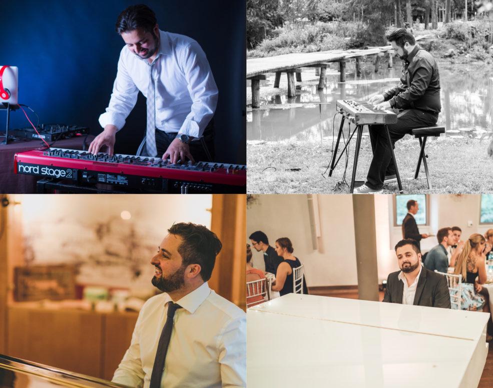 Solopiano, Pianist, Pianist und DJ für Feiern